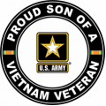 US Army Proud Son of a Vietnam Veteran