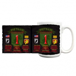 1ST INFANTRY BIG RED 1 VIETNAM MUG