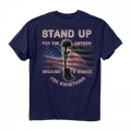 STAND UP FOR THE ANTHEM BECAUSE IT STANDS FOR SOMETHING - SHIRT