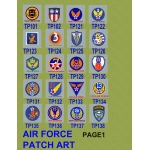 AIR FORCE - COMPLETE CUSTOM PLAQUE - VERTICAL