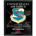 STRATEGIC AIR COMMAND CUSTOM SERVICE PLAQUE