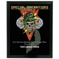 SPECIAL OPERATIONS VIETNAM CUSTOM SERVICE PLAQUE