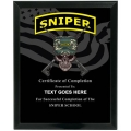 SNIPER - ARMY CUSTOM SERVICE PLAQUE