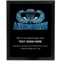AIRBORNE - ARMY CUSTOM SERVICE PLAQUE