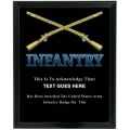 INFANTRY - ARMY CUSTOM SERVICE PLAQUE