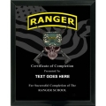 RANGER - ARMY CUSTOM SERVICE PLAQUE