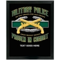 MILITARY POLICE CUSTOM SERVICE PLAQUE