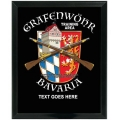 GRAFENWOHR TRAINING AREA BAVARIA CUSTOM SERVICE PLAQUE