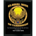 AIR FORCE GLOBAL WAR ON TERRORISM CUSTOM SERVICE PLAQUE