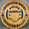CUSTOM - POLICE DEPARTMENT , OFFICER PLAQUE 12""