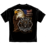 AMERICAN FIRE FIGHTER T-SHIRT