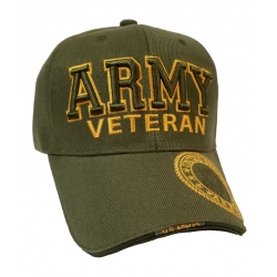 ARMY VETERAN OD GREEN HAT