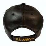 U.S ARMY BLACK LEATHER HAT