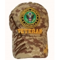 ARMY DIGITAL CAMO VETERAN HAT WITH SHADOW EMBROIDERY