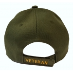 DISABLED ARMY VETERAN HAT - OD GREEN
