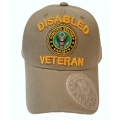 DISABLED ARMY VETERAN HAT - KHAKI