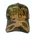 ARMY VETERAN CAMO HAT