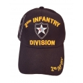 2ND INFANTRY DIVISION HAT WITH SHADOW EMBROIDERY