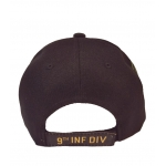 9TH INFANTRY DIVISION HAT WITH SIDE SHADOW EMBROIDERY
