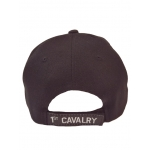 1ST CAVALRY HAT WITH SIDE SHADOW EMBROIDERY
