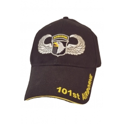 101ST AIRBORNE HAT WITH AIRBORNE WING EMBROIDERY