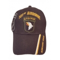101ST AIRBORNE HAT WITH SIDE SHADOW EMBROIDERY