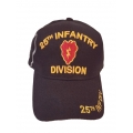 25TH INFANTRY DIVISION HAT WITH SHADOW EMBROIDERY