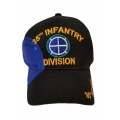 35TH INFANTRY DIVISION HAT WITH SHADOW SIDE EMBROIDERY