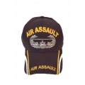 AIR ASSAULT HAT WITH EMBROIDERED BILL & MESH STRIP SIDES ON THE BILL