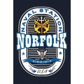 NORFOLK VIRGINIA , NAVAL STATION T-SHIRT