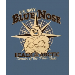 NAVY - BLUE NOSE - REALM OF THE ARCTIC T-SHIRT