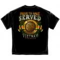PROUD TO HAVE SERVED - VIETNAM VETERAN SHIRT