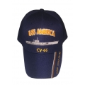 USS AMERICA CV-66 - DONT TREAD ON ME HAT