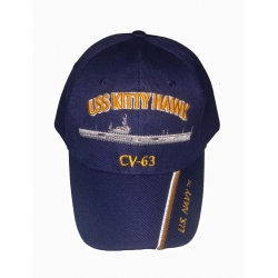 USS KITTY HAWK CV-63  HAT