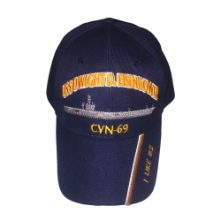 USS DWIGHT D. EISENHOWER CVN-69 HAT