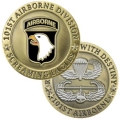 101ST AIRBORNE CHALLENGE COIN