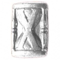 """SILVER HOUR GLASS DEVICE (5/16"""")"""