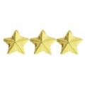 "3 GOLD STAR DEVICE (3/16"")"