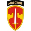 Military Assistance Command MACV With Airborne Tab Decal Sticker
