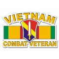First Field Force Vietnam Combat Veteran Decal