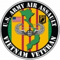 US Army Air Assault Veteran Decal Sticker