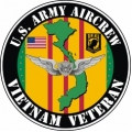 US Army Aircrew Vietnam Veteran Decal Sticker