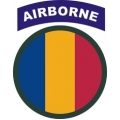 US Army Training and Doctrine Command TRADOC with Airborne Tab Decal Sticker
