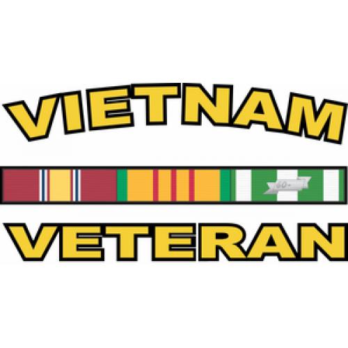 Vietnam Veteran Sticker Vinyl Transfer Decal