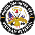 US Army Proud Daughter of a Vietnam Veteran
