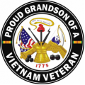 US Army Proud Grandson of a Vietnam Veteran