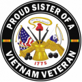 US Army Proud Sister of a Vietnam Veteran
