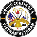 US Army Proud Cousin of a Vietnam Veteran