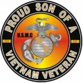 US Marine Corps Proud Son of a Vietnam Veteran