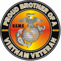 US Marine Corps Proud Brother of a Vietnam Veteran